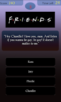 Screenshot of Friends Quiz Lite