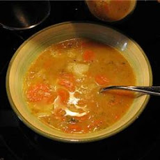 Carrot, Potato, and Cabbage Soup