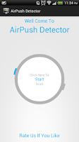 Screenshot of New Airpush Detector