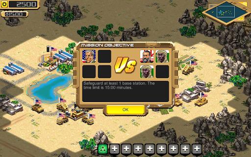 Desert Stormfront - RTS - screenshot