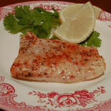 Easy Baked Orange Roughy