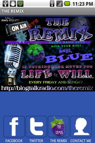 THE REMIX With Ms. Blue