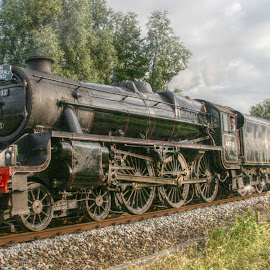 Steam Train by Gary Peak - Transportation Trains ( england, uk, hdr, canterbury, kent, train, cathedrals express, 44932, steam )