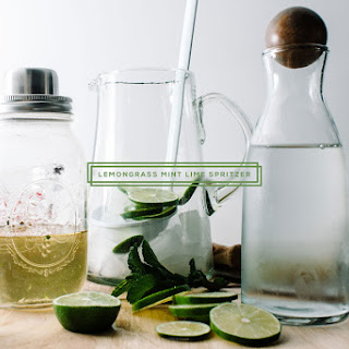 Lime And Mint Spritzer Recipes