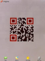 Screenshot of i-nigma QR & Barcode Scanner