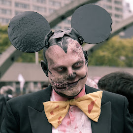 Mouse Zombie by Jack Brittain - Public Holidays Halloween ( canada, zombie, toronto, ontario, nathan phillips square, zombie walk )