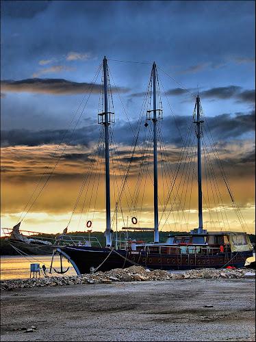 by Josip Kopčić - Transportation Boats ( , water, device, transportation, vertical lines, pwc )