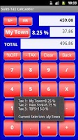 Screenshot of Sales Tax Discount Calculator