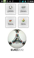 Screenshot of Euro 2012 Planner