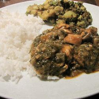 Chicken Spinach Mushroom Curry Recipes