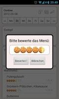 Screenshot of Mensa Hannover