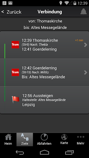 A+ Fahrplan Leipzig Premium - screenshot