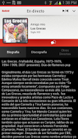 Screenshot of Radiolé for Android