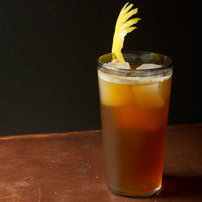 Zucca Sprezzatura (Amaro and Scotch Highball)