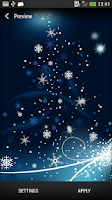Screenshot of New Year Live Wallpaper