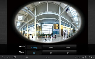 Screenshot of VIVOTEK iViewer Classic
