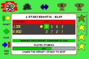 Screenshot of Tennis Sim Manager