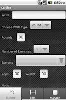 Screenshot of Xercise