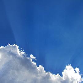 Blue sky.... by Amanda Coertze - Landscapes Cloud Formations ( blue sky,  )