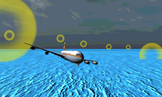 Screenshot of 3D Airplane Flight Simulator
