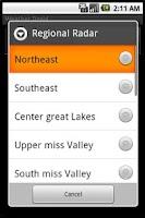 Screenshot of Weather Droid Widget Lite