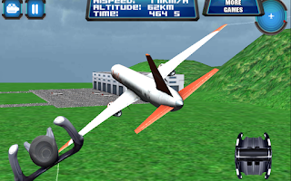 Screenshot of 3D Plane Flight Fly Simulator