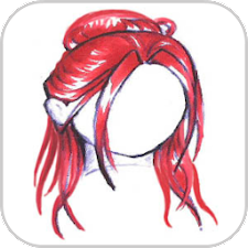 How To Draw Girl Hair