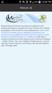 Martell School of Dance - screenshot