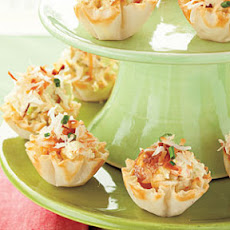 Curried Shrimp Tarts