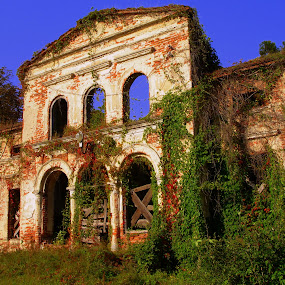 ....abandoned.... :-) by Ana Wisniewska - Buildings & Architecture Decaying & Abandoned