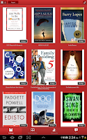 Screenshot of Freading