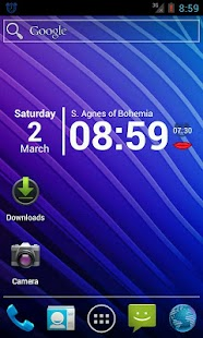 SpeakTime Naked widget - screenshot