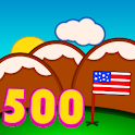 500 Words in english icon
