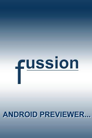 FUSSION APP PREVIEWER