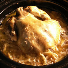 Crock Pot French Onion Chicken