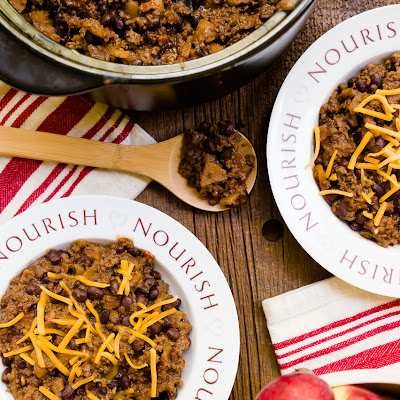 Apple Pie Bison Chili