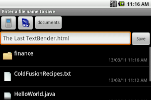 Screenshot of TextWarrior