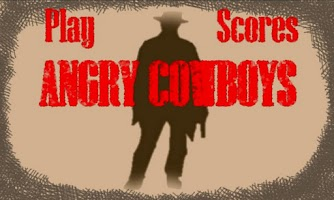 Screenshot of Angry Cowboys