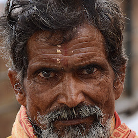 Bhairon Singh by Rakesh Syal - People Portraits of Men (  )