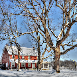 Penn HIll after the snow by Mike Roth - Buildings & Architecture Other Exteriors (  )