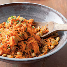 Carrot Slaw with Lemon-Honey Dressing