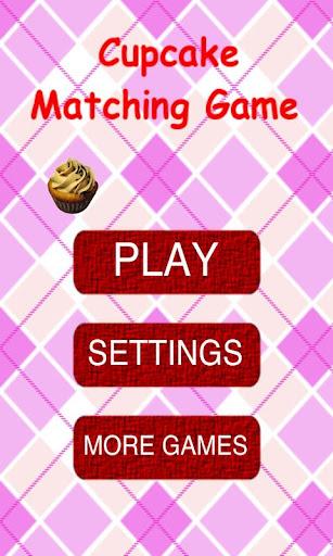 Cupcake Matching Game