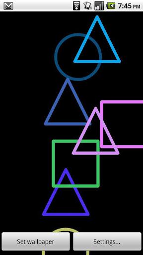 簡單的形狀,生活背景