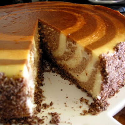 Rum and Chocolate Cheesecake