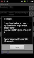 Screenshot of SOS Alarm