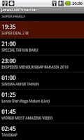 Screenshot of Jadwal TV