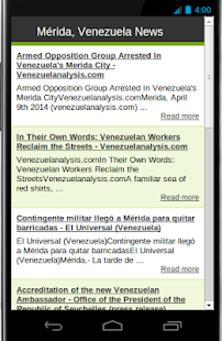 Mérida Venezuela News - screenshot