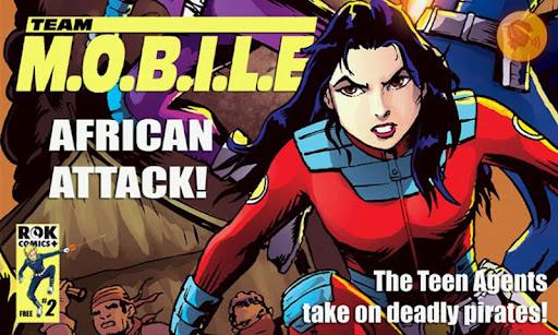 【免費漫畫App】Team M.O.B.I.L.E #2-APP點子