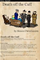 Screenshot of Death off the Cuff