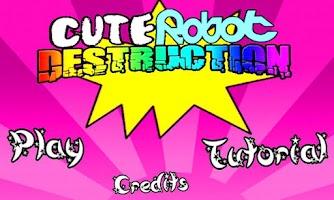 Screenshot of Cute Robot Destruction